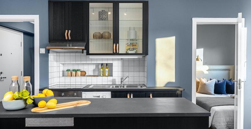 Kjøkken fornyet 2020