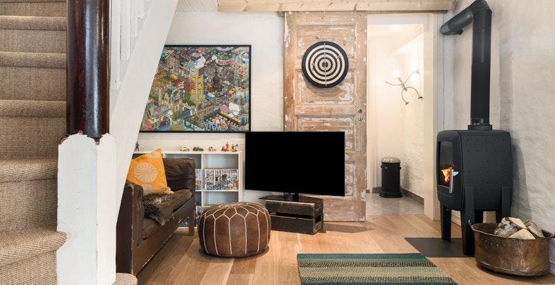 Tv stue i underetasje