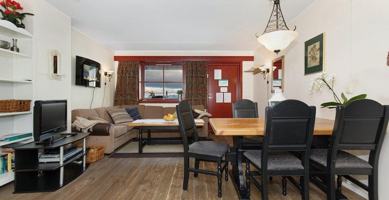 Velholdt 3-roms eierseksjon på Norefjell Mountain Lodge.