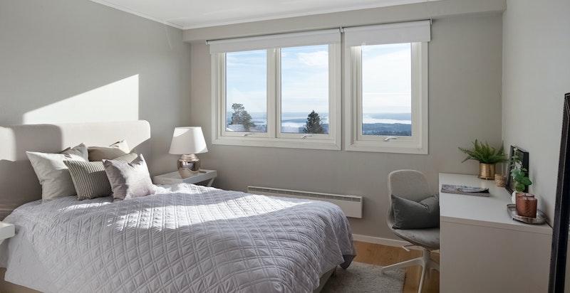 Soverom inngangsplan - kan enkelt gjøres om til master bedroom med eget bad