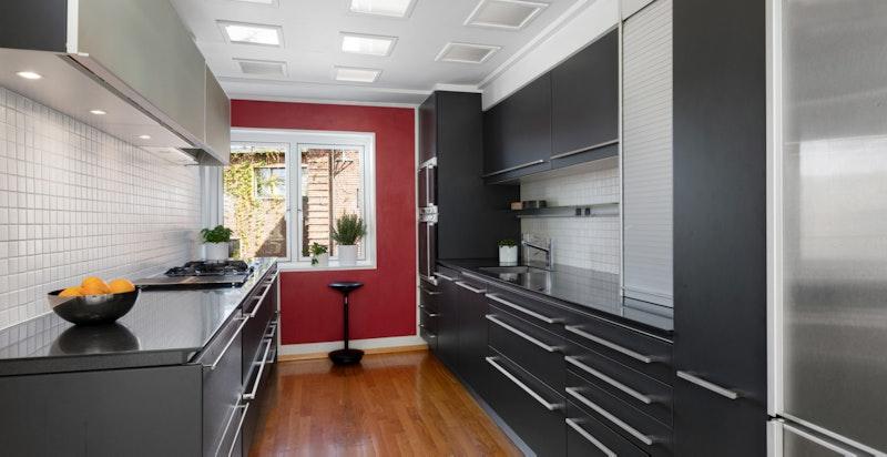 Kjøkken med innredning fra Varenna/Exponova