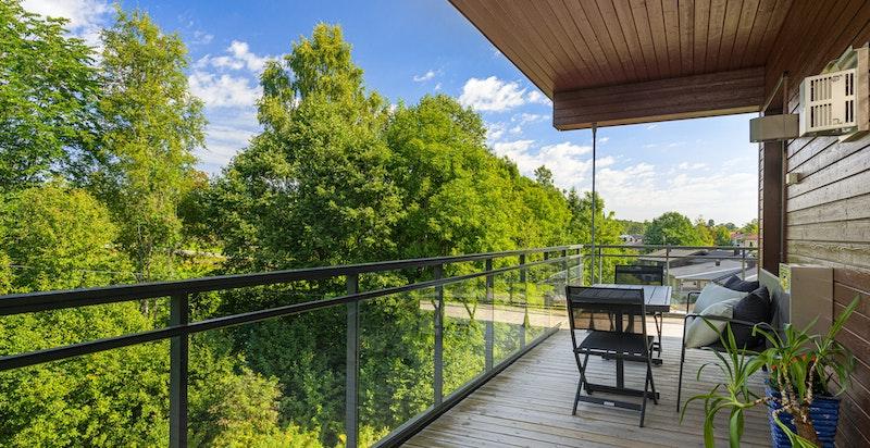 28 kvm overbygget terrasse