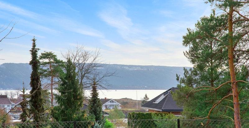 Utsikt mot Oslofjorden