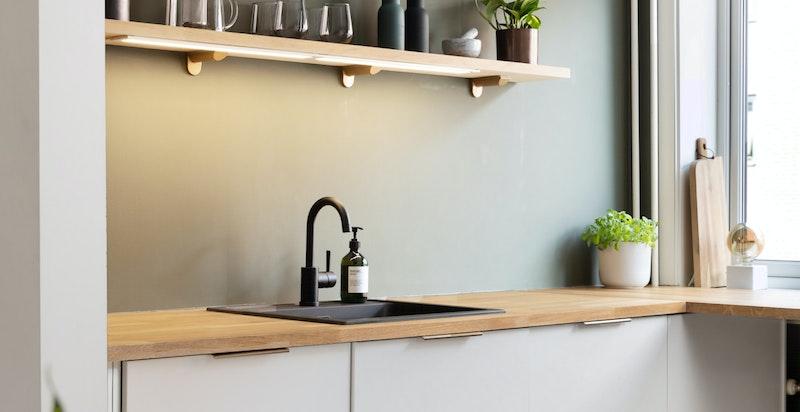 God plass til flere på kjøkkenet samtidig
