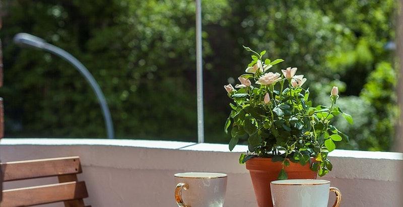Sommerbilde balkong