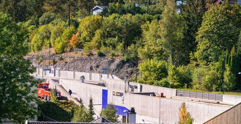 Kort avstand til Avløs T-banestasjon