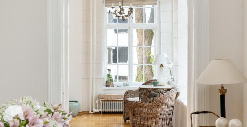 Herlige lysforhold i boligen