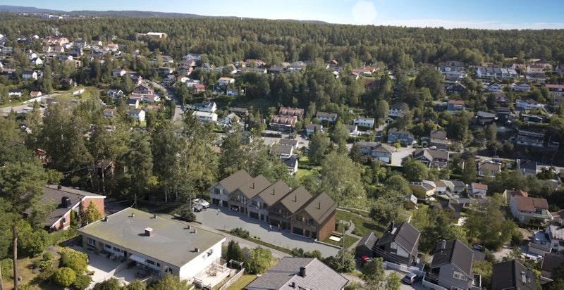 Super beliggenhet med nydelig utsikt over Prinsdalen og Hauketo.
