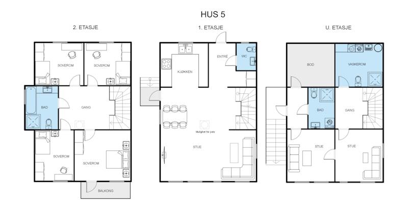 Enebolig - Hus 5