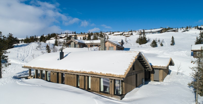 Velkommen til en meget lekker hytte i Vidsynveien på Norefjell