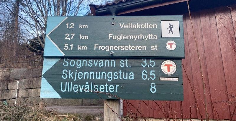 """Et naturskjønt område rett ved Marka og """"Skådalsløypa"""" med flotte turmuligheter sommer som vinter."""
