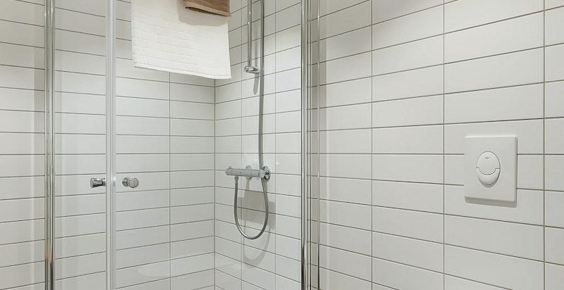 Opplegg og plass til vaskemaskin og tørketrommel