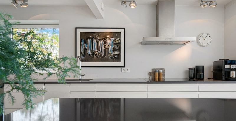 Kjøkkenøy i samme utførelse