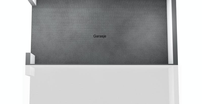 Planskisse garasje/stallbygning 1.etg