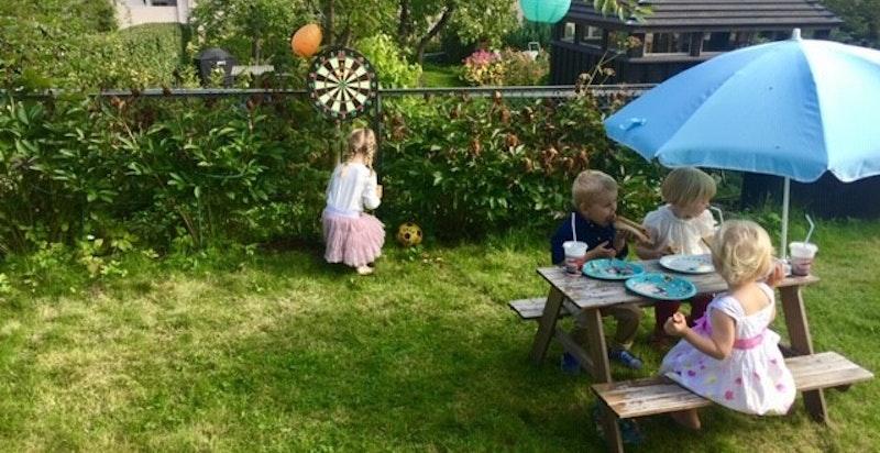 Sommeridyll i hagen