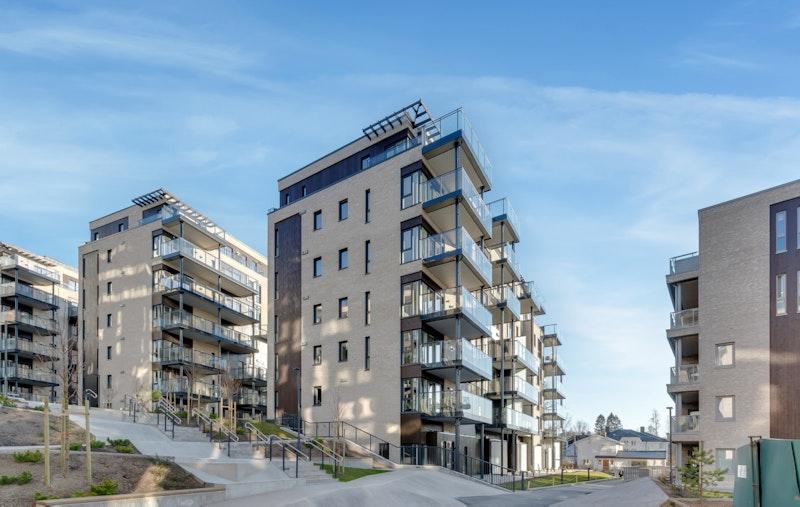 Lys 4-roms leilighet i 4. etasje i nyoppført bygg fra 2020