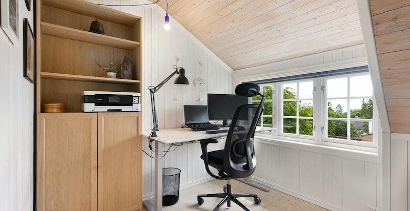 Soverom nr 3 / hjemmekontor med flott utsikt
