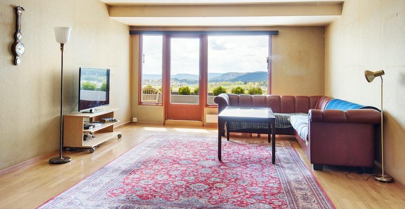 Innvendig i leiligheten er de fleste vegger lette. Dette gjør at du kan bygge ditt eget drømmehjem.