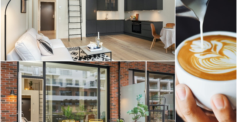 Velkommen til Bøkkerveien 10 A - en nyoppført 2-roms med hems og stor markterrase.