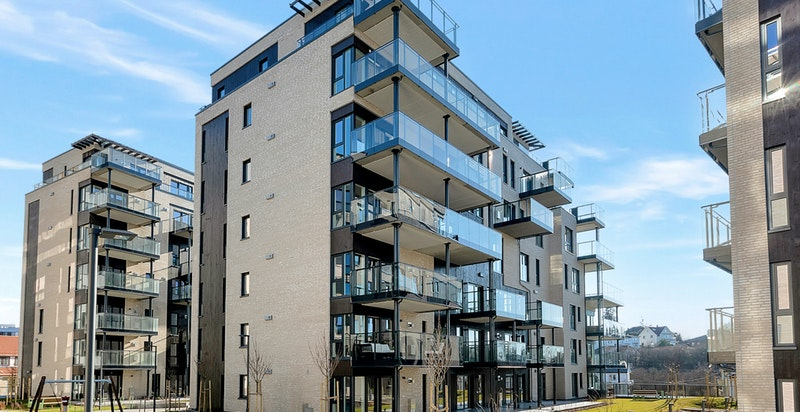 En ny 4-roms leilighet med egen utleieleilighet