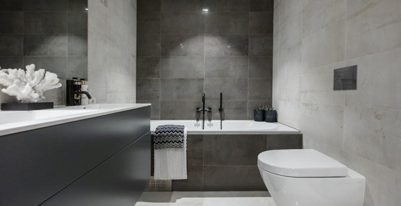 Hovedbad med badekar