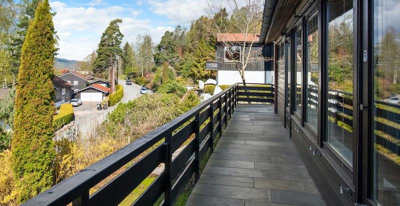 Langsetter terrassen
