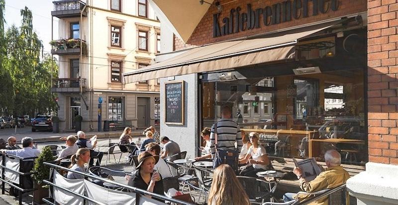 Hyggelige kafeèr i nabolaget.