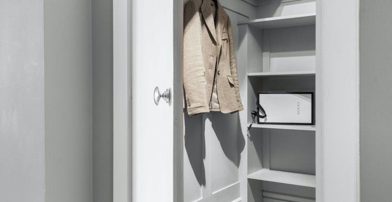 Garderoberommet.