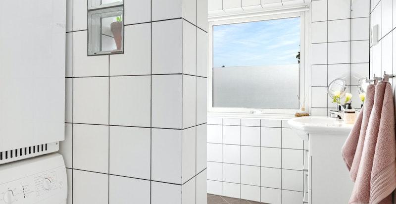 Smart nisje til vaskemaskin og tørketrommel