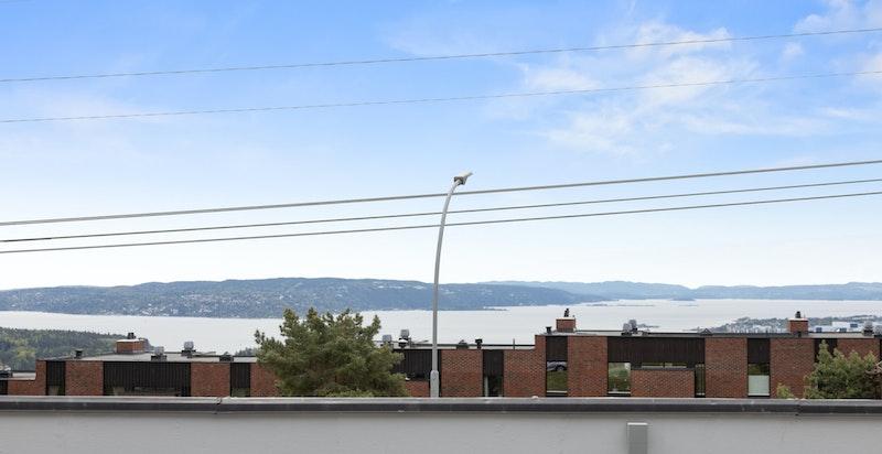 Utsikt og terrasse