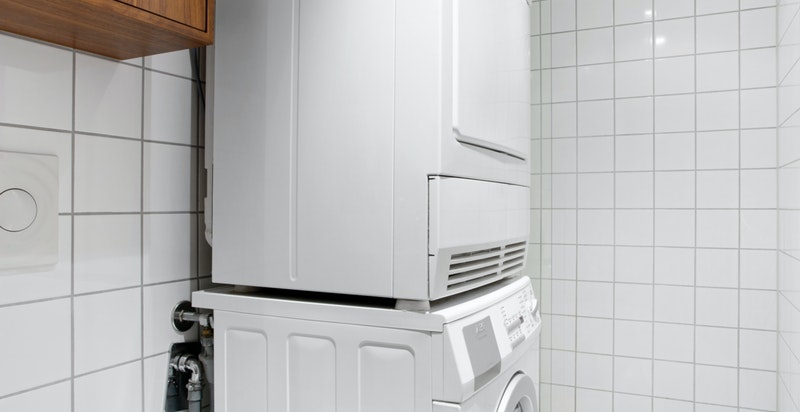 Opplegg for vaskesøyle og dusj