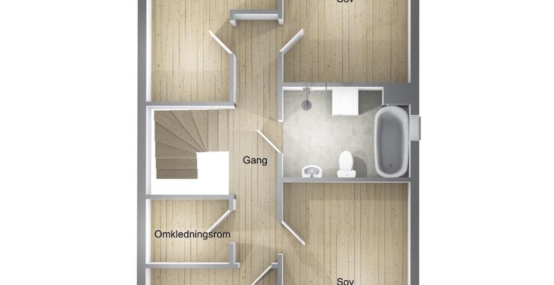 Planskisse 2.etasje