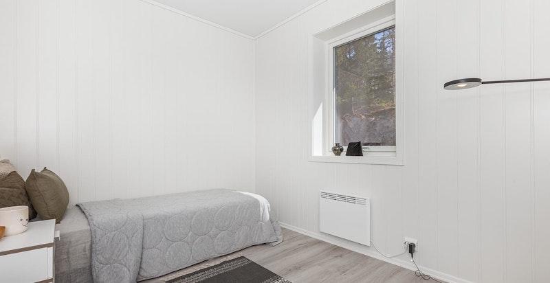 Bilder er tatt i leilighet 7.3  men viser tilsvarende leveransestandard for rekkehusene - Soverom (avvik kan forekomme, se leveransebeskrivelse)