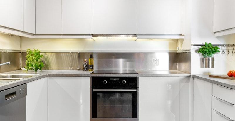 Detaljbilde fra kjøkken