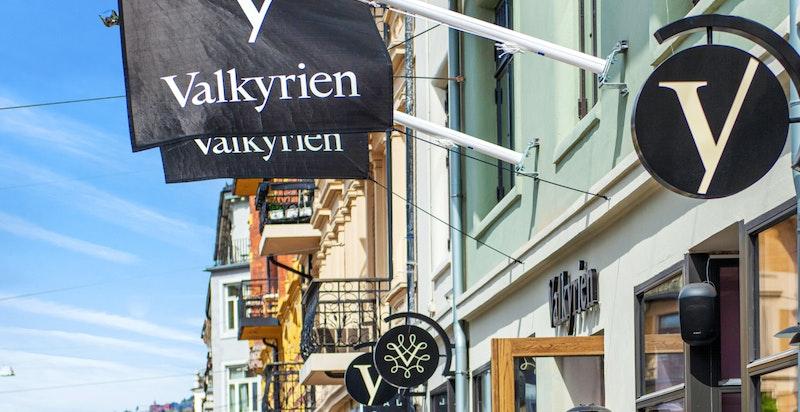 Nye Valkyrie kjøpesenter som åpnet i april 2020
