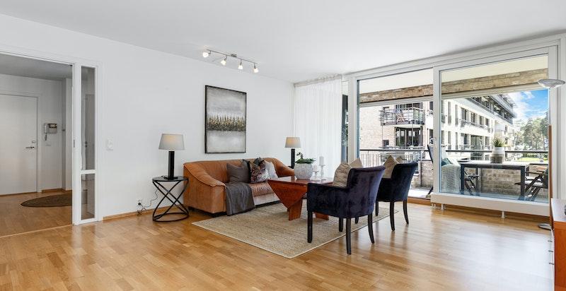 Salong og tv-stue