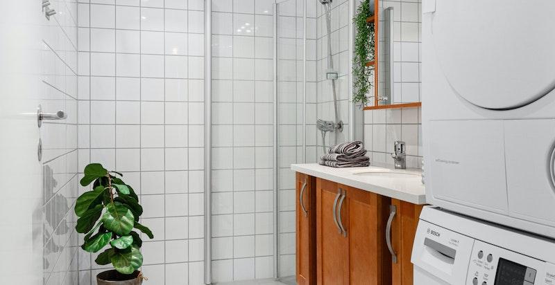 Bad - opplegg for vaskemaskin og tørketrommel