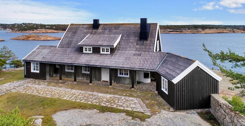 Hoveshuset fra nord/vest