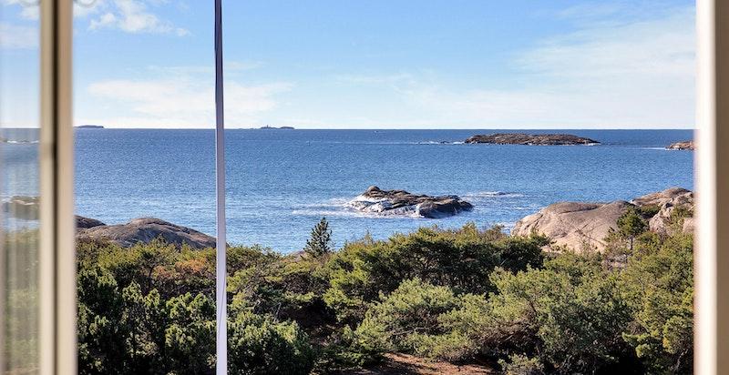 Utsikt fra hovedhuset