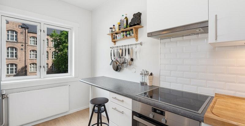 Smart barløsning på enden av kjøkkenbenken
