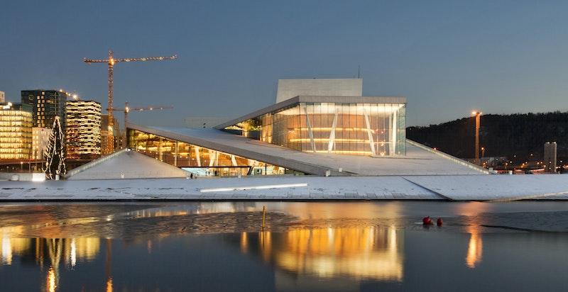 Operaen i Bjørvika  - en av byens største severdigheter