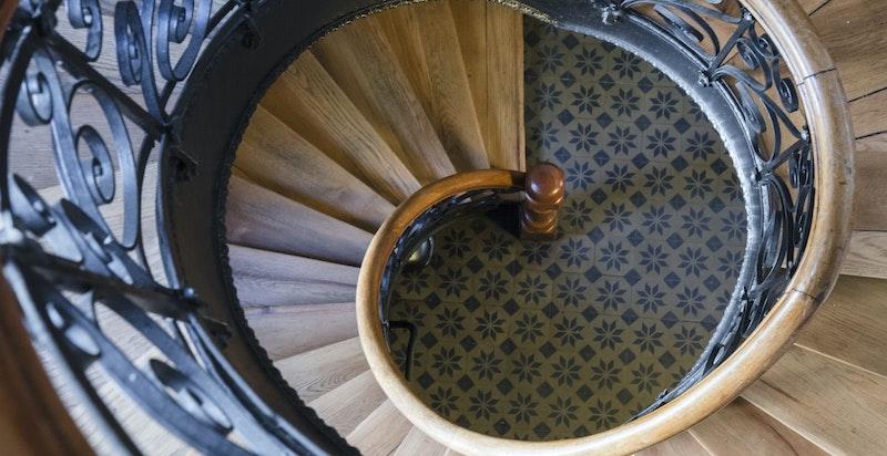 Detalj - Original trappeoppgang