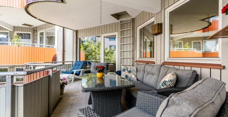 Her har du definitivt et ypperlig sted å tilbringe varme sommerdager i selskap med familien eller gode venner.