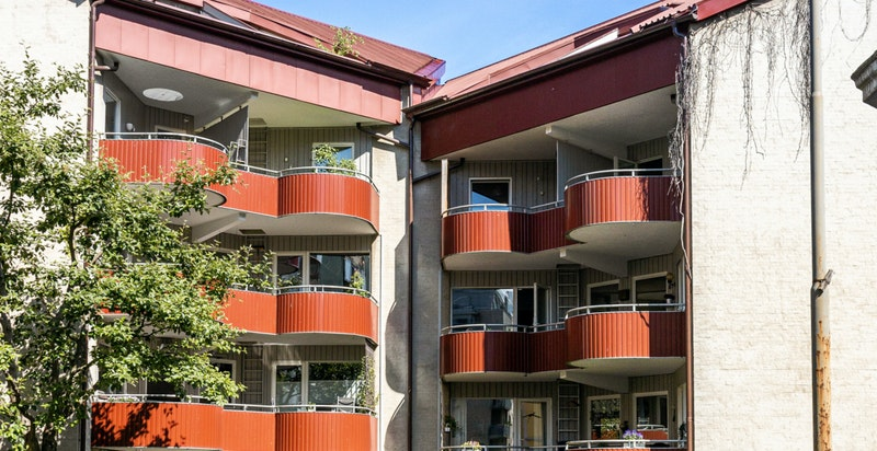 Fasade Valdresgata 3A.