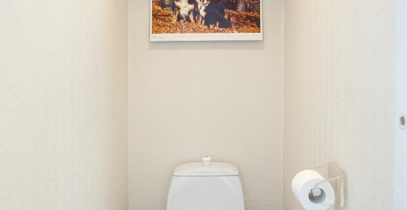Separat toalett i tilknytning til bad nr. 2
