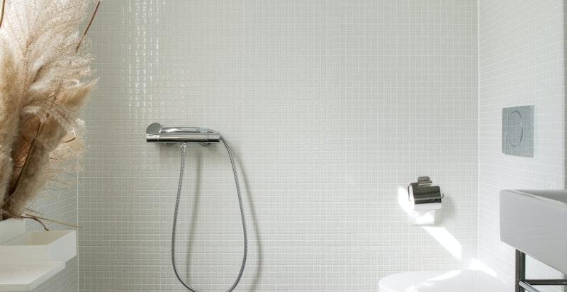 WC med dusj i 1. etasje