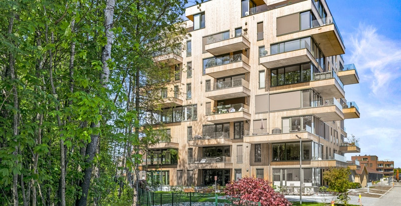 Velkommen til ny og innflyttingsklar leilighet i Magasinparken 22 (Ski Tårn av Code).
