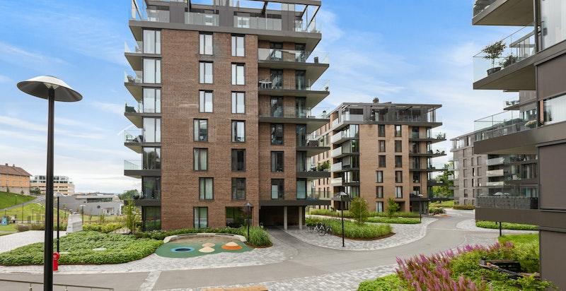 Nytt og moderne boligprosjekt som ble ferdigstilt i 2019.