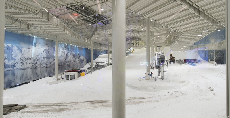 """SNØ skihall som """"nærmeste"""" nabo- Verdens råeste helårsarena for snøopplevelser."""