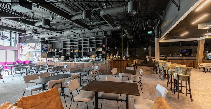 Kafé/restaurant i SNØ